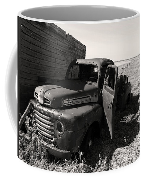 Landscapes Coffee Mug featuring the photograph Far From Now by The Artist Project