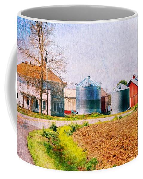 Coffee Mug featuring the photograph Farm Around The Corner by Kim Blaylock
