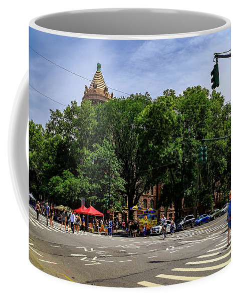 Nyc Coffee Mug featuring the photograph Farmers Market by Charles A LaMatto