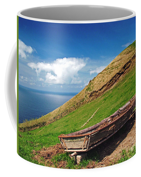 Europe Coffee Mug featuring the photograph Farming In Azores Islands by Gaspar Avila