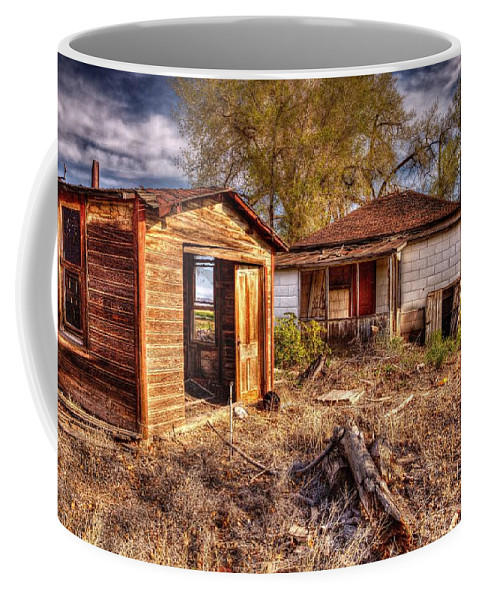 Family Farm Coffee Mug featuring the photograph Farmstead by Randy Waln