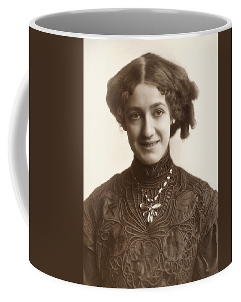 1890 Coffee Mug featuring the photograph Fashion: Hairstyle, C1900 by Granger
