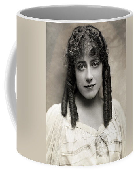 1910 Coffee Mug featuring the photograph Fashion: Hairstyle, C1910 by Granger