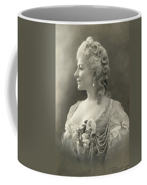 19th Century Coffee Mug featuring the photograph Fashion: Woman by Granger
