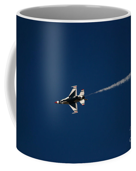 Air Force Coffee Mug featuring the photograph Fast And Loose by Chandra Nyleen