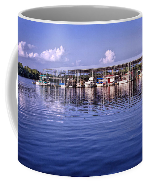 Marina Coffee Mug featuring the photograph Fate Sanders Marina by Diana Powell