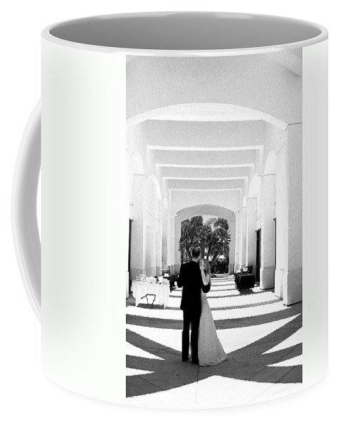 Dance Coffee Mug featuring the photograph Father And Bride by Anthony Jones