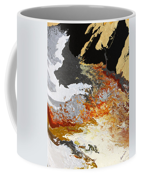 Fusionart Coffee Mug featuring the painting Fathom by Ralph White