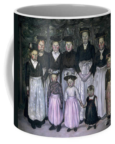 1930 Coffee Mug featuring the photograph Fautrier: Sunday Stroll by Granger