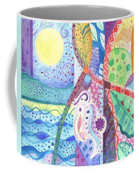 Nature Coffee Mug featuring the painting Favorite Things by Helena Tiainen