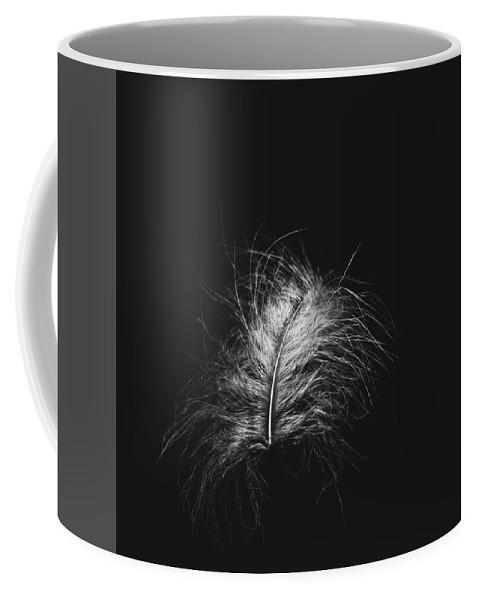 Feather Coffee Mug featuring the photograph Feather 3 by Scott Norris