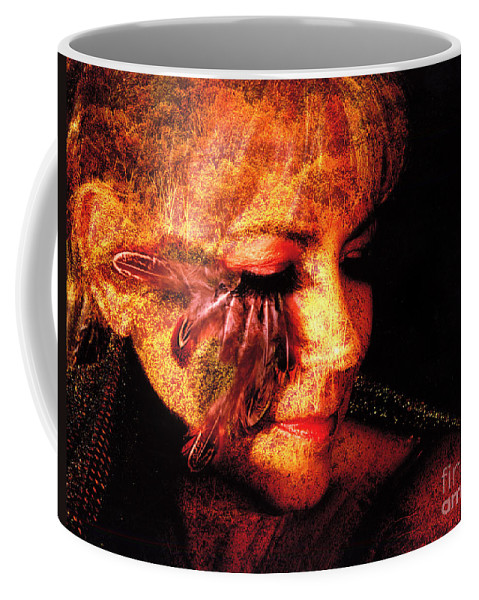 Clay Coffee Mug featuring the photograph Feathers Of Beauty by Clayton Bruster