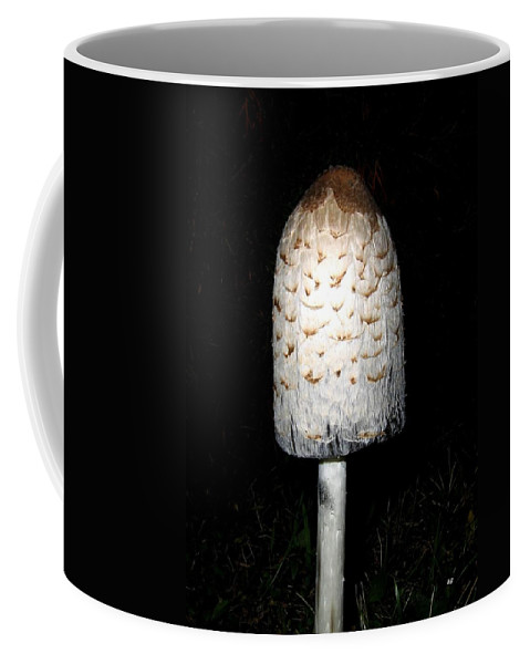 Feathery Coffee Mug featuring the photograph Feathery Mushroom by Will Borden