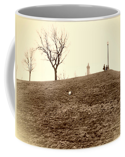 2d Coffee Mug featuring the photograph Federal Hill by Brian Wallace