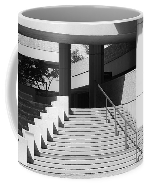 Architecture Coffee Mug featuring the photograph Federal Stairs by Rob Hans