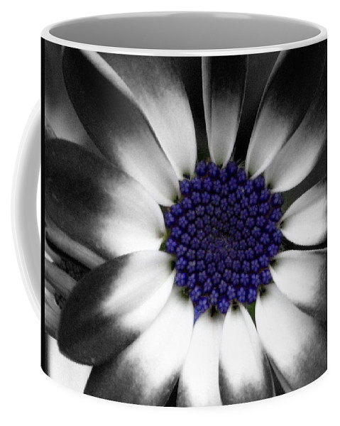 Floral Coffee Mug featuring the photograph Feeling Blue by Marla McFall