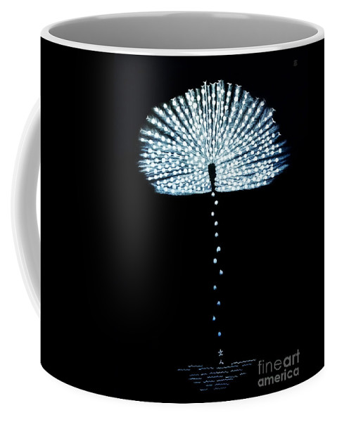 Contemporary Coffee Mug featuring the painting Female Feather by Fei A