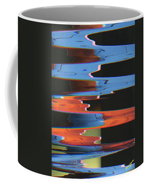 Arts Coffee Mug featuring the digital art Festival Of Eccentricities Freshening Our Aesthetic Fantasies #25 by Mbonu Emerem