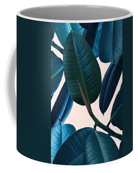 Summer Coffee Mug featuring the photograph Ficus Elastica 2 by Mark Ashkenazi