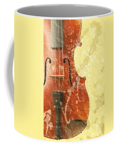 Fiddle Coffee Mug featuring the photograph Fiddle by Michal Boubin