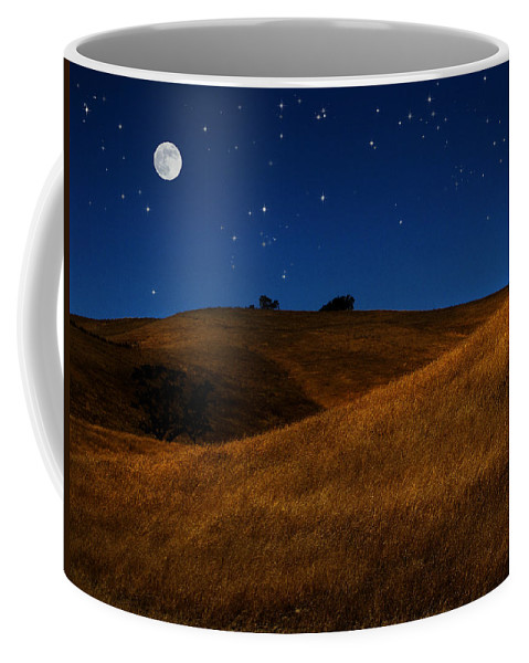 Trees Coffee Mug featuring the photograph Field Formation by Karen W Meyer