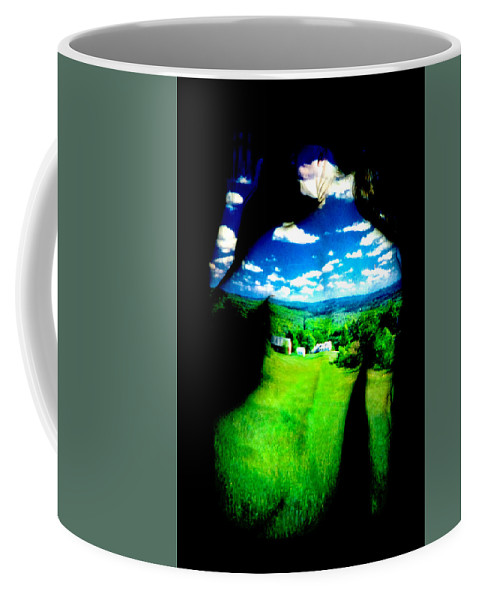 Field Coffee Mug featuring the photograph Field Girl by Greg Fortier