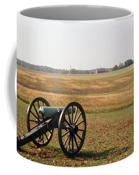 Civil War Coffee Mug featuring the photograph Fields Of Death by Richard Rizzo