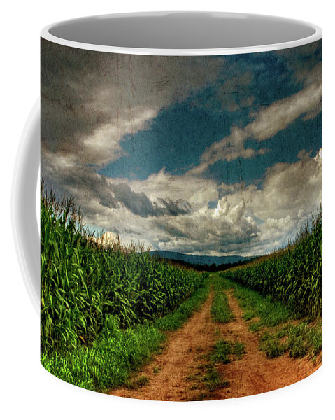 Summer Coffee Mug featuring the photograph Fields Of Summer by Lois Bryan