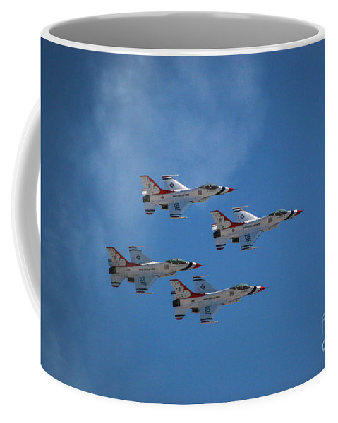 Air Force Coffee Mug featuring the photograph Fighter by Chandra Nyleen