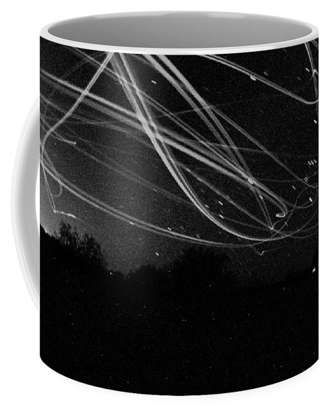 Night Coffee Mug featuring the photograph Fighting The Dark by David S Reynolds