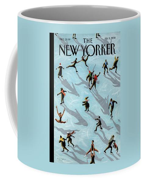Figured Skaters Coffee Mug