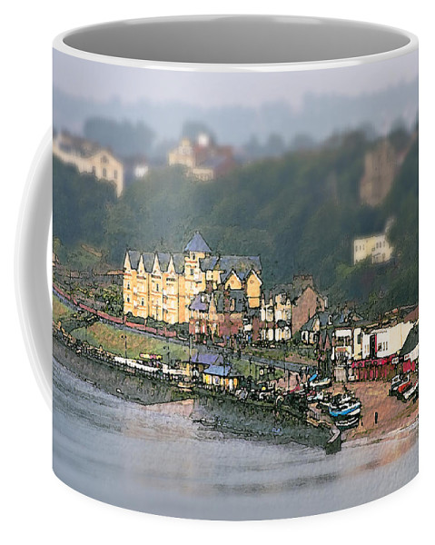Yorkshire Coffee Mug featuring the photograph Filey by Svetlana Sewell