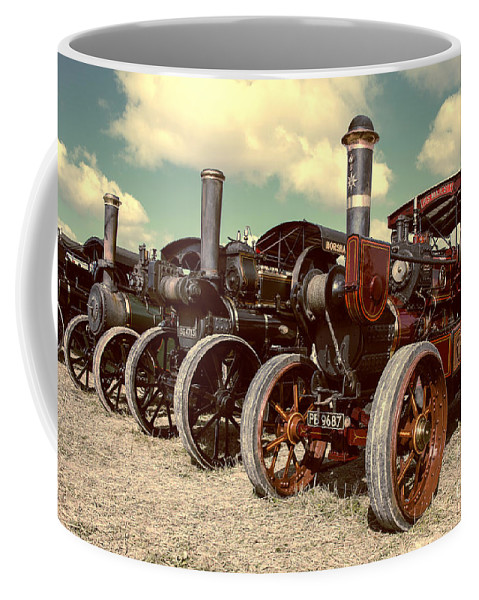 Traction Coffee Mug featuring the photograph Filtered Steam by Rob Hawkins