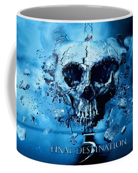 Comics Coffee Mug featuring the digital art Final Destination-an American Horror Franchise by Don Kuing