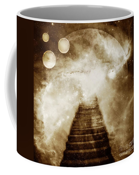 Fantasy Coffee Mug featuring the photograph Final Destination by Jacky Gerritsen