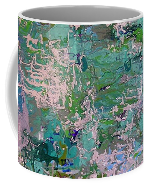 Finding Myself Coffee Mug featuring the painting Finding Myself by Dawn Hough Sebaugh