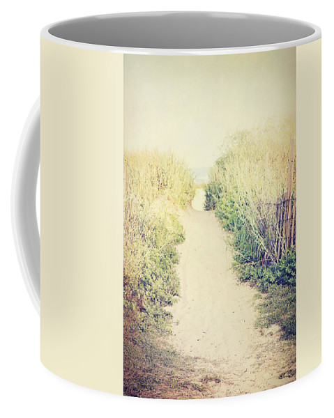 Beach Coffee Mug featuring the photograph Finding Your Way by Trish Mistric