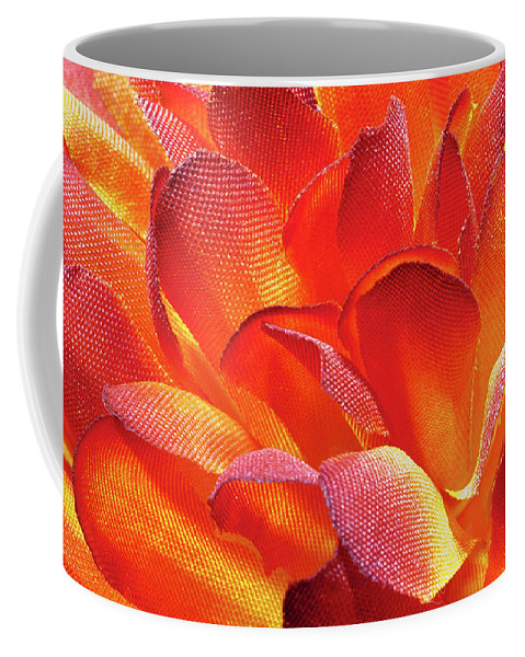Flower Coffee Mug featuring the photograph Fire Flower by Jim Cole