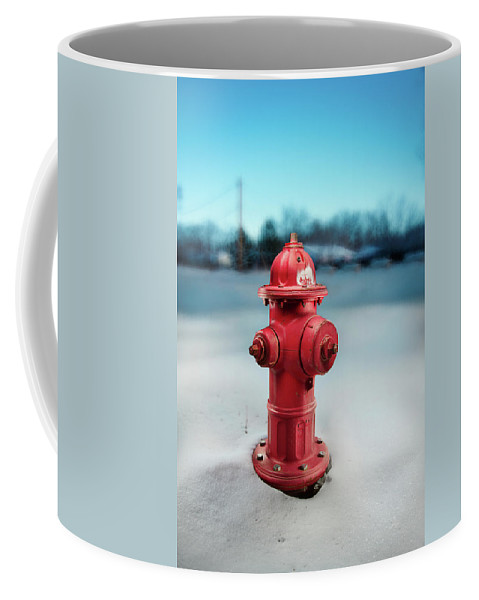 Exterior Coffee Mug featuring the photograph Fire Hydrant by Yo Pedro