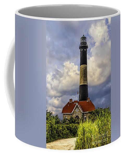 Fire Island Coffee Mug featuring the photograph Fire Island Lighthouse by Nick Zelinsky