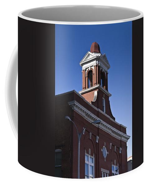 Roanoke Coffee Mug featuring the photograph Fire Station No 1 Roanoke Virginia by Teresa Mucha