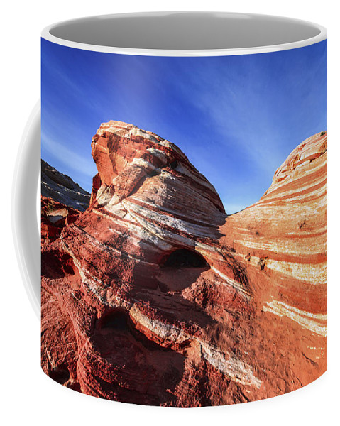 Fire Wave Coffee Mug featuring the photograph Fire Wave by Chad Dutson