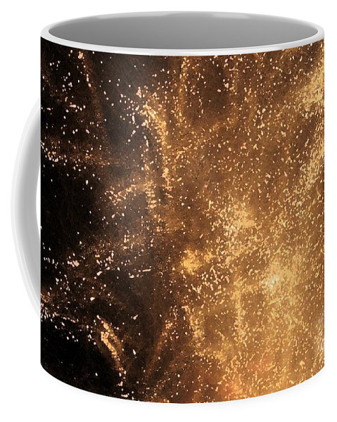 Fireworks Coffee Mug featuring the photograph Fired Up by Debbi Granruth