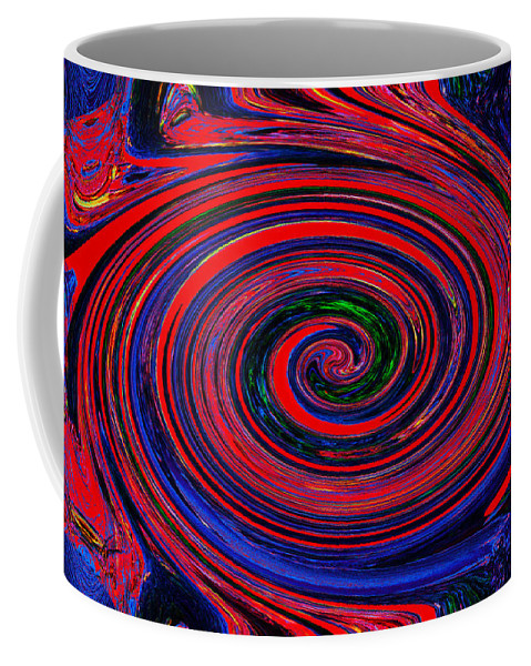 Abstract Coffee Mug featuring the photograph Fires Of Evil Wants Mother Earth by Miroslava Jurcik