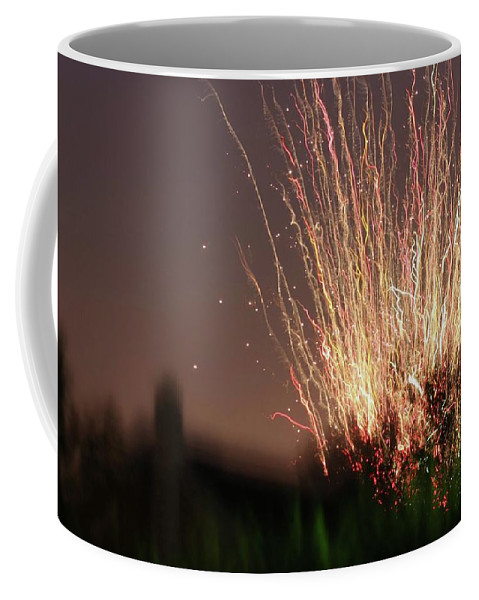 Fireworks Coffee Mug featuring the photograph Fireworks by JP Morris