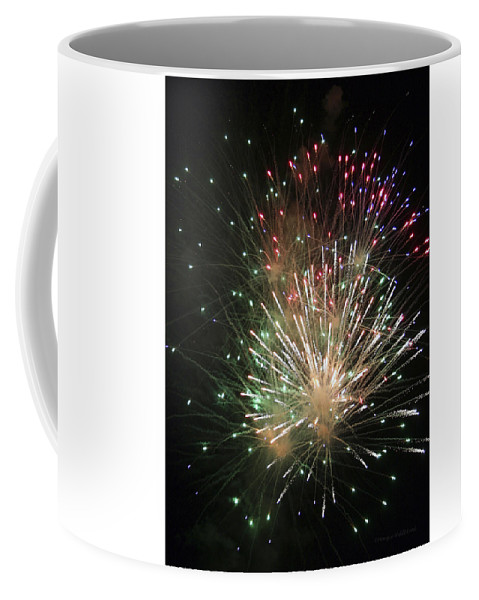 Fireworks Coffee Mug featuring the photograph Fireworks by Margie Wildblood