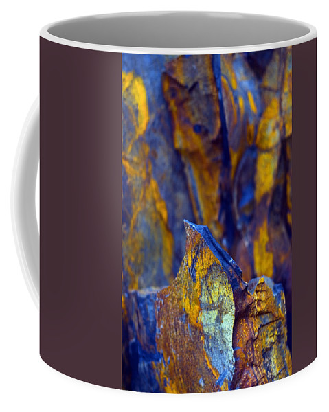 Texture Coffee Mug featuring the photograph First Cut Is The Deepest by Skip Hunt