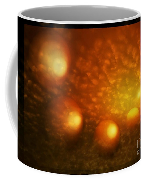 Colorful Coffee Mug featuring the photograph First Light by Dale Crum