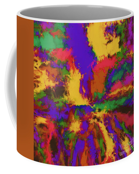 First Moment Coffee Mug featuring the digital art First Moment by Keith Mills