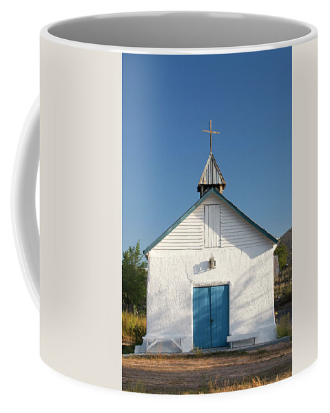 Southwest Coffee Mug featuring the photograph First Service by Jim Benest